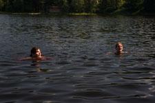 Koupání a vodáctví na Šumavě