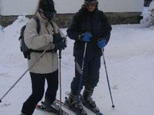 Sjezdové lyžování na Šumavě